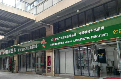 祝贺生态板品牌 精材艺匠安徽淮安店开业